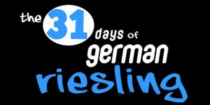 The 31 days of German Riesling